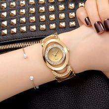 CRRJU Luxury Women Watch Marcas Famosas de Design de Moda Pulseira de Ouro Relógios Ladies Mulheres Relógios De Pulso Relogio Femininos(China (Mainland))