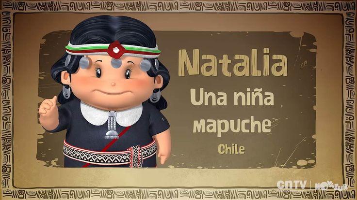 En este capítulo conocemos la vida, costumbres y tradiciones del pueblo mapuche a través del testimonio de Natalia Puñir de 8 años, quien vive con su familia en Mahuidache - Temuco.