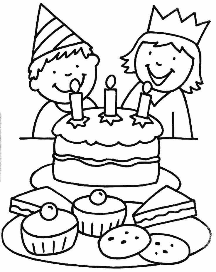 find this pin and more on kolorowanki urodziny we love this little colouring sheet for birthday