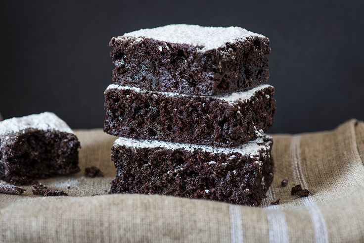 Chocolate Brownie recipe Illustration.