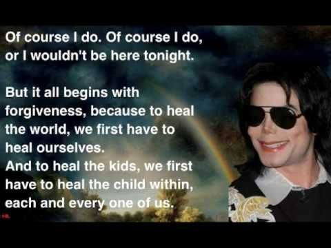 informative speech michael jackson Michael jackson, the eccentric king of pop, brought a highly personal message of peace, love, and healing to oxford university last night.