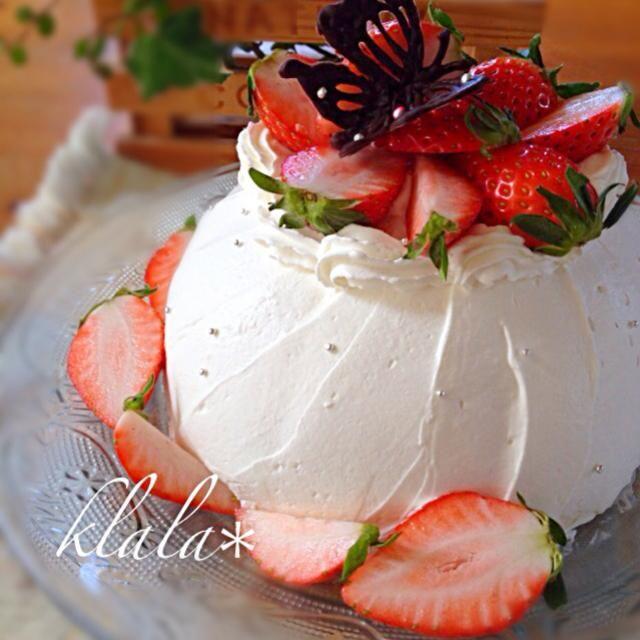 最後のイチゴォ~꒰༎ຶ﹏༎ຶ๑꒱ は、1パックまるっとズコットに❤️ 中はイチゴのムース 香織ちゃん、ほんとーにૅ˘็ੋ͈◡ुً☬ཻैั້͈ ⌝̲̏ㄘ❣ こんな贅沢な毎日をアリガ㌧♬(*◔‿◔)♡ - 501件のもぐもぐ - ストロベリームースズコット by klala