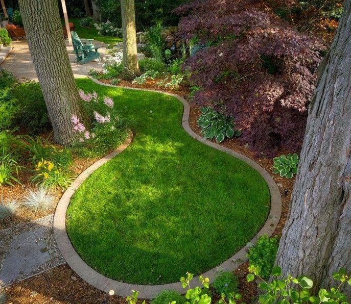 Ideas Gallery Best Rhporkbellyus Breathtaking Small Dry: 34 Best Landscape Flowerbed Edging Images On Pinterest