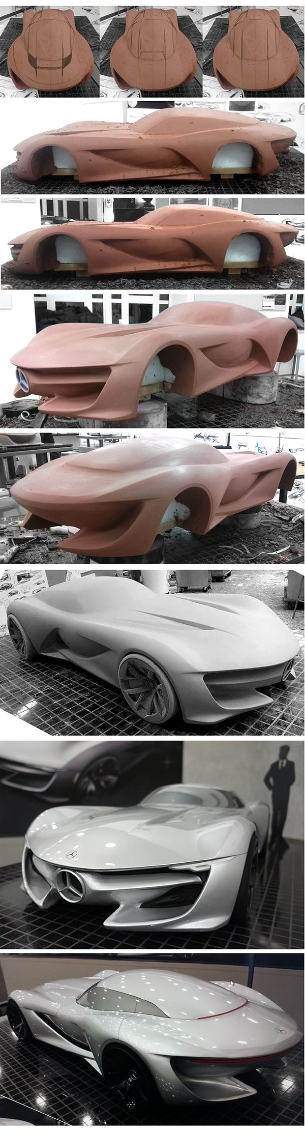 My goal of this project was to design mercedes benz sl that shows new design direction to them the main theme of this concept is transition in expression