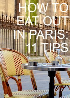 Eating is my favorite thing to do in Paris. Mr. P and I usually have a first and second breakfast most days we're there. Here are my tips for eating out in Paris. It's a long list but eating out ... #paristravel