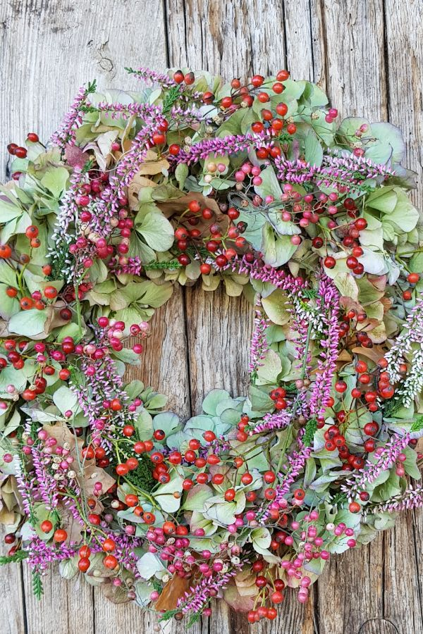 DIY Herbstdeko selber machen Deko Idee für deine Türe aus ...