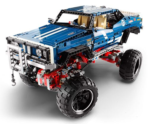 The top LEGO Technic set that I have ever seen and some of the most enjoyable to build: Cars, trucks, robots, bikes... everything is possible with Technic