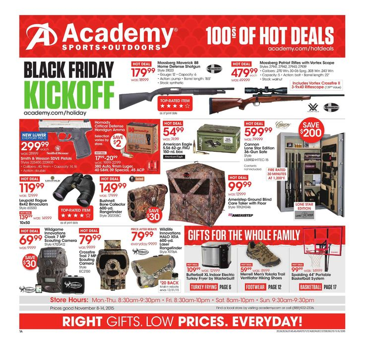Academy Sports Weekly Ad October 3 9, 2018