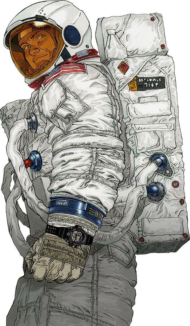 宇宙飛行士 CASIO G-SHOCK RANGEMAN