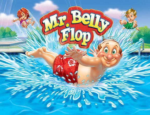 Mr. Belly Flop © Jim Talbot #illustration