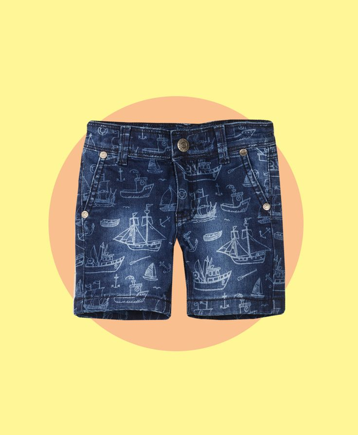 Pumpkin Patch Bleach Printed Denim Shorts - available in sizes 5 to 14 years http://www.pumpkinpatchkids.com