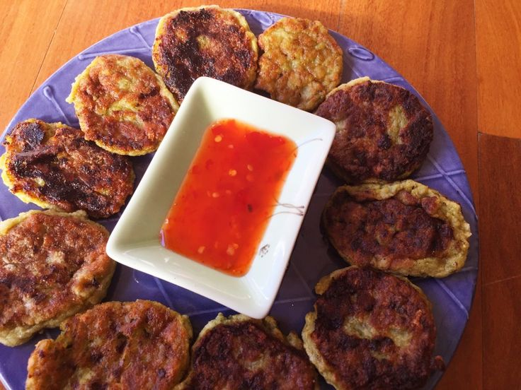 Thermomix Thai Fish Cakes