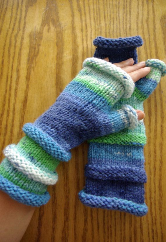 Mittens, fingerless gloves, perfect as a gift, various colours available