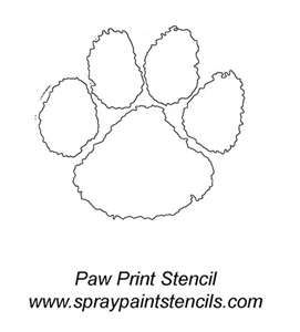 25 unique clemson tiger paw ideas on pinterest clemson for Tiger paw template
