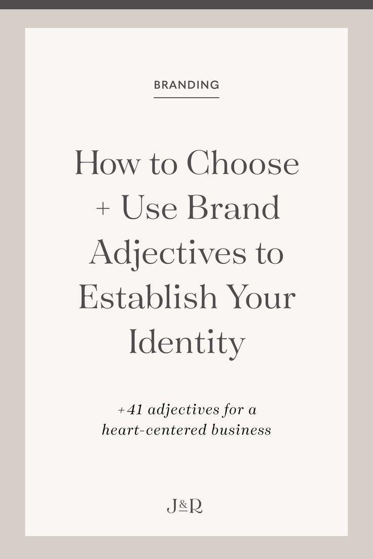 How To Establish Your Brand Identity