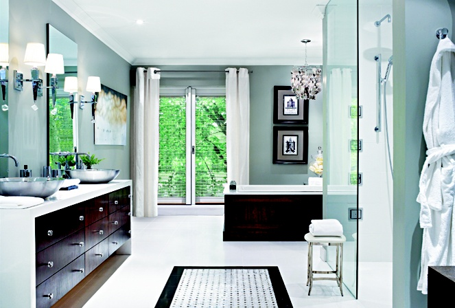Master bathroom by Candice Olson. & Candice Olson - Classic Luxe Bathroom | Modern Building Design azcodes.com