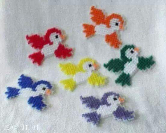 Birds magnets 1/2