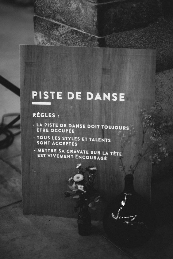 Piste de Danse - Règles