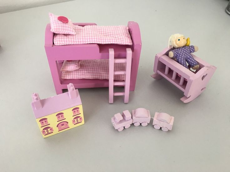 Rosebud Cottage ELC Dolls House Accessories | eBay