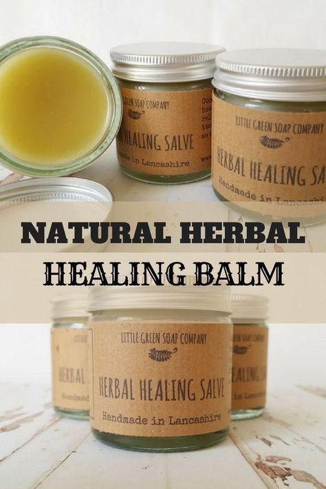 Herbal Healing Salve, Healing Balm, Natural Eczema Balm, Psoriasis Cream, Organic Skin Treatment #skincare #naturalbeauty #ad #PsoriasisSalve