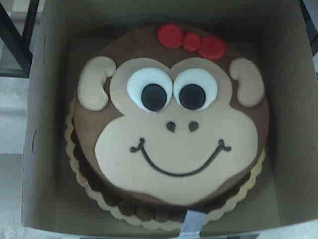 monkey face template for cake - best 25 monkey birthday cakes ideas on pinterest monkey