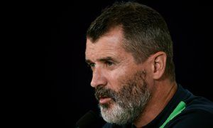 Roy Keane says he would kick any player who talked of leaving