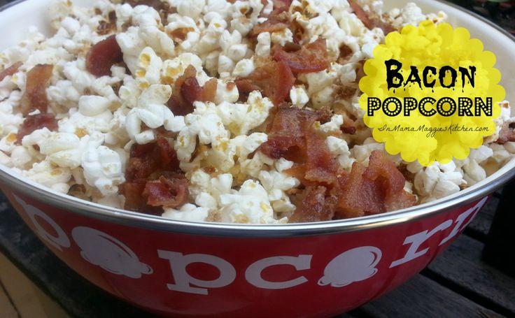 Bacon Popcorn | Bacon rules! | Pinterest