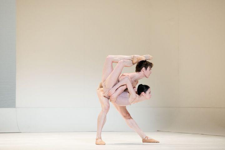 Svetlana Lunkina and Evan McKie in Chroma. Photo by Karolina Kuras.