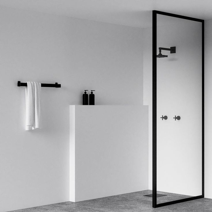 "1,271 Likes, 33 Comments - N I C H B A (@nichba_design) on Instagram: ""WE WONT LIE... for us it's all about minimalism and simplicity ⚫️⚪️ FIND NICHBA BATHROOM products…"""