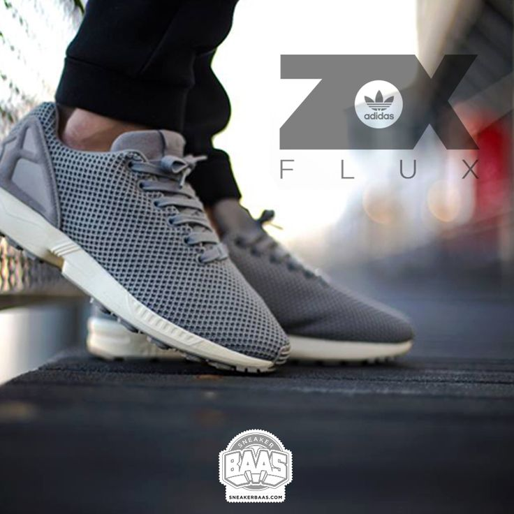 """#adidas #zx #zxflux #adidaszxflux #adidasgrey #sneakerbaas #baasbovenbaas  Adidas Zx Flux """"Grey"""" - Now available - Priced at 99.99 Euro  For more info about your order please send an e-mail to webshop #sneakerbaas.com!"""