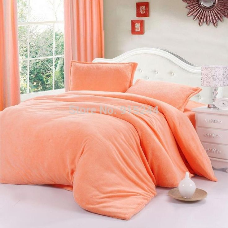 Set Bedding Quality Directly From China Fleece Duvet Cover Suppliers Quilt Hometextile Solid Color Thickening