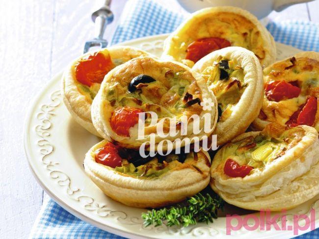Tartaletki z warzywami