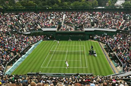 Wimbledon - i would LOVE to see a match here!!!