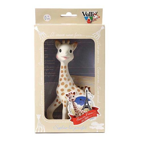 Vulli Sophie the Giraffe Teether Vulli http://smile.amazon.com/dp/B000IDSLOG/ref=cm_sw_r_pi_dp_.hapub1QXJ1RW