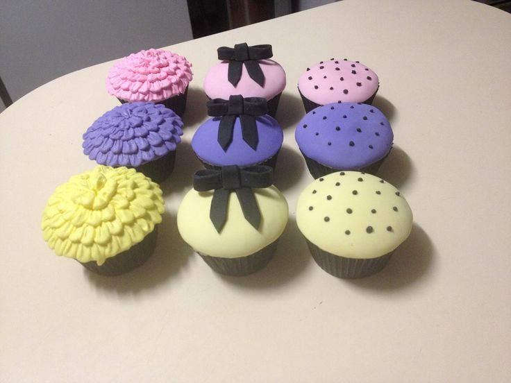 Cute cupcakes Becs Custom Creations on Facebook