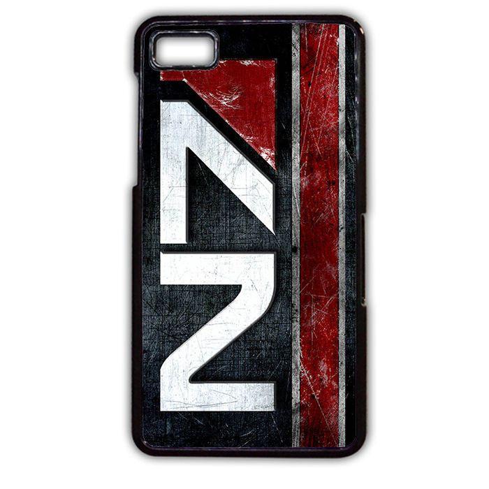 Mass Effect N7 TATUM-6990 Blackberry Phonecase Cover For Blackberry Q10, Blackberry Z10