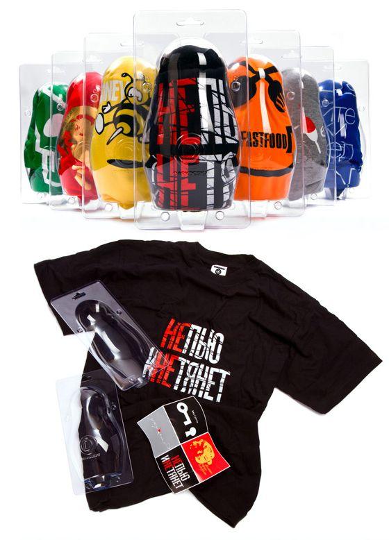 34 best empaquetado images on pinterest design packaging for Cool t shirt packaging