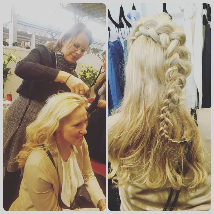 "Annemette Djernæs på Instagram: ""Thank you @styleroomdk for visiting AND making my hair day  #styling #hair #hairstyle #braided #hairstylist #haircut"""