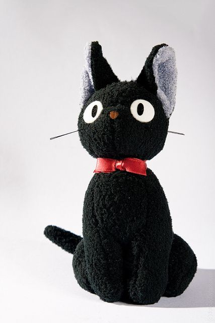 Japanese Room: Jiji / Kiki's Delivery Service plush toy by Max Mayorov