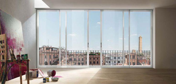 finestre a vetro continuo - Essenza