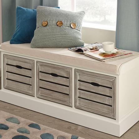 Dunelm storage bench