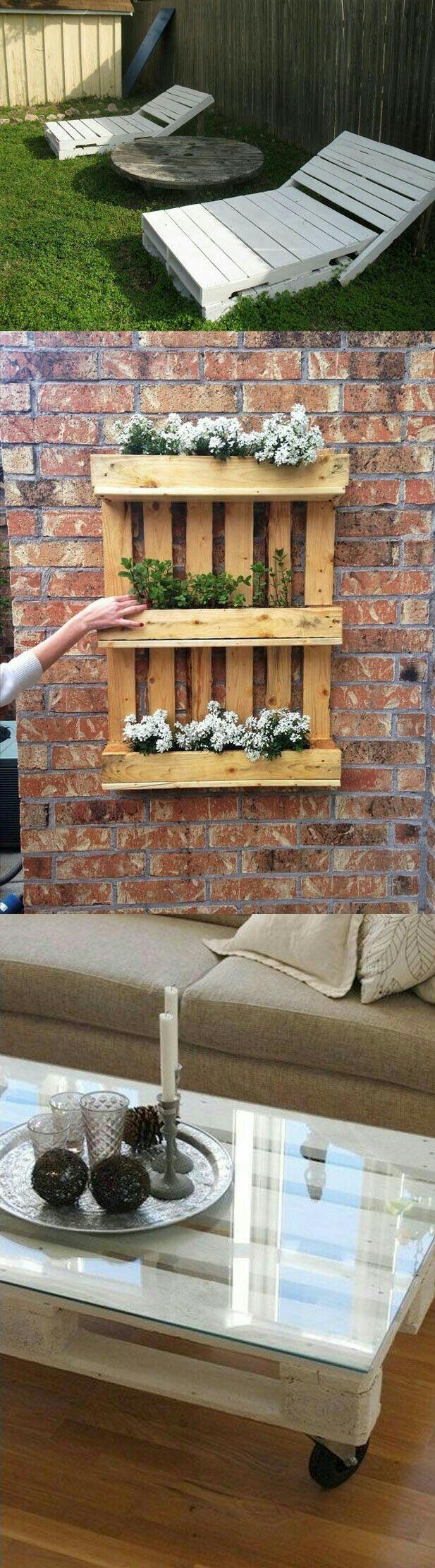 Oltre 25 fantastiche idee su panchine da giardino su pinterest - Giardino pallet ...