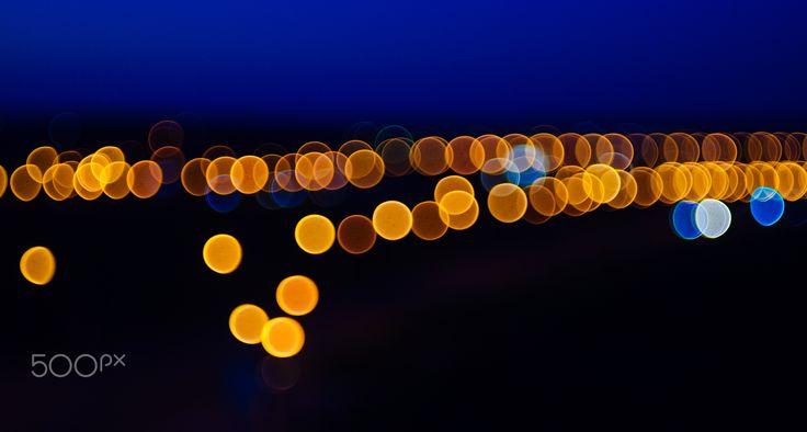 Luces borrosas por Valery Bond en 500px