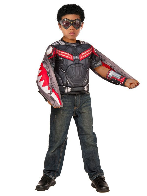 Captain America: Civil War Boy's Falcon Deluxe Costume