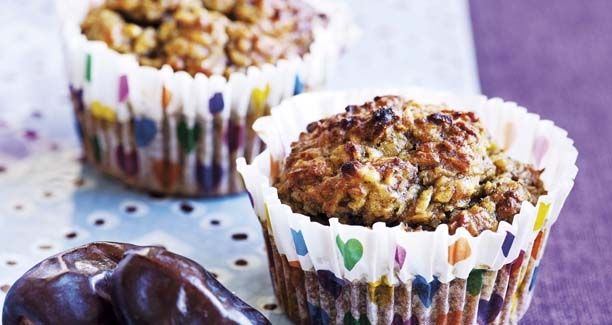 Skønne sunde muffins, der kan serveres for glutenallergikere