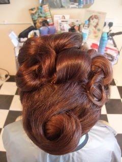 The Goodwood Revival Hair Salon :)