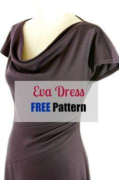 Eva Dress Pattern FREE - My Handmade Space