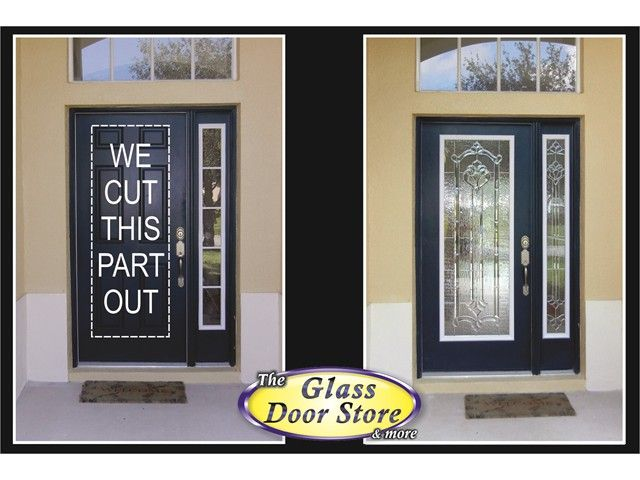 Front Door Glass Inserts Replacement