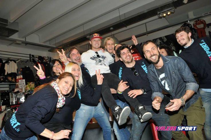 AMAZING 4* Anniversary Megastore #ValeriSport!!!  Staff ValeriSport with JACK MILLER ... The future of MotoGP!!!