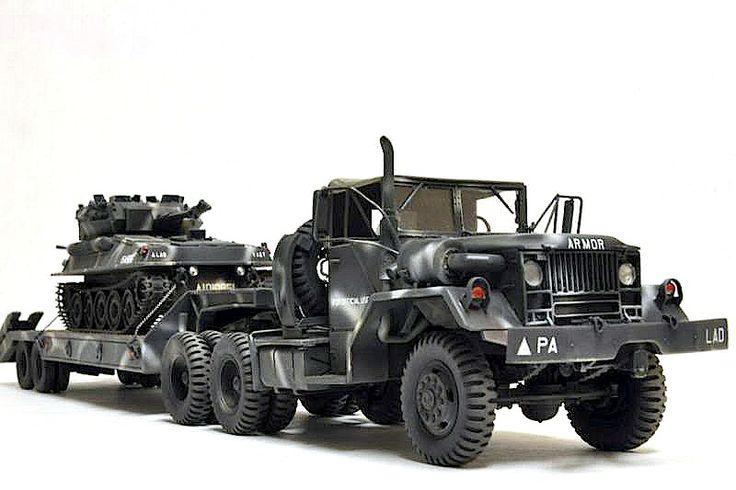 M52 Transport x Scorpion Light Tank Phil. Army colors   1:35 scale